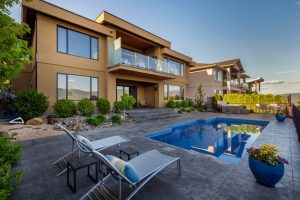 Home located in West Kelowna with large backyard and pool