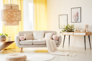 modern furniture in Kelowna home