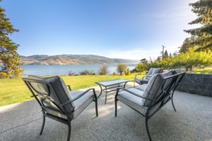 luxury waterfront home listed with Quincy Vrecko and Associates