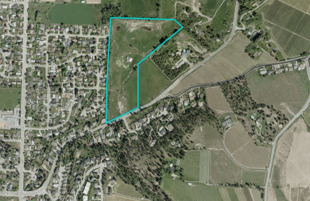 the orchard in the mission is 23 acres