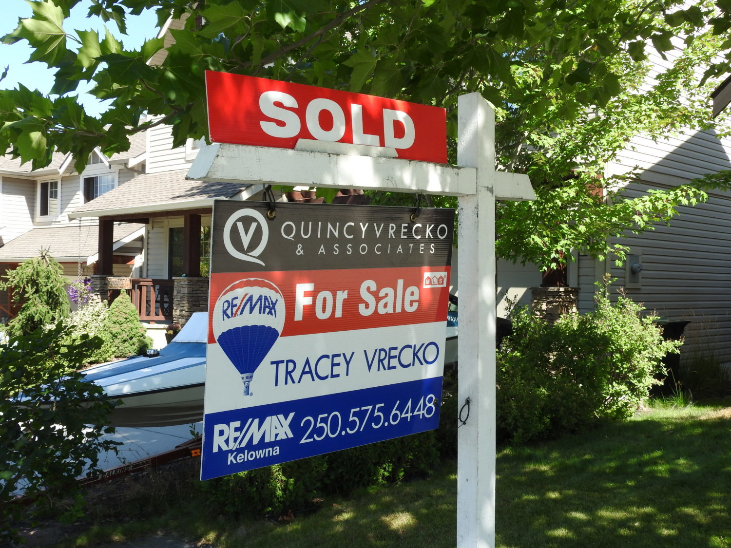 Sold by Quincy Vrecko and Assoicates Kelowna Real Estate