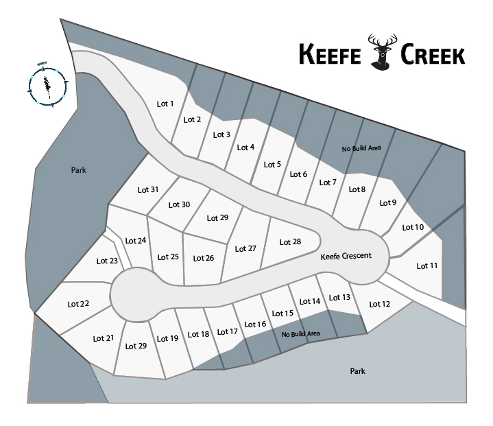 map of Building lots for sale-Quincy Vrecko West Kelowna Real Estate
