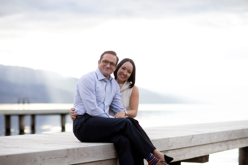 Tracey and Quincy couple-Kelowna Luxury Real estate