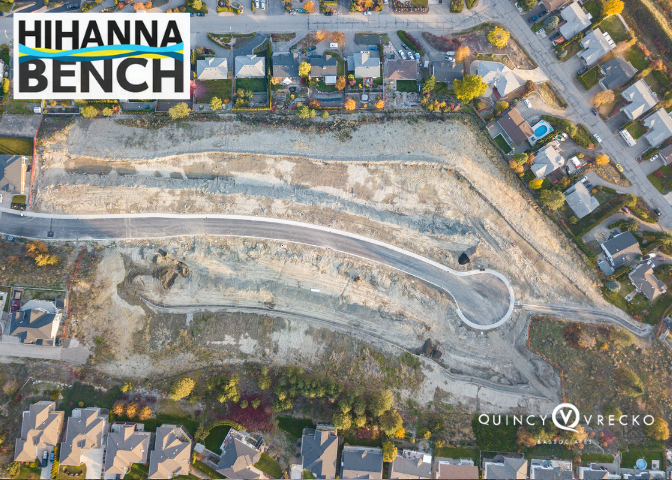 lot plan hihanna bench/Quincy Vrecko Kelowna real estate