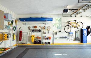 clean organized garage