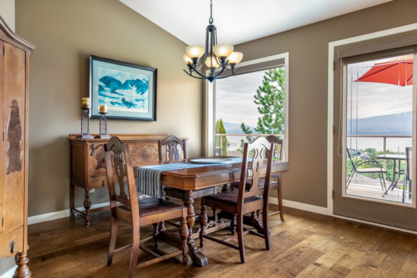 dining room Tracey Vrecko Kelowna Real Estate