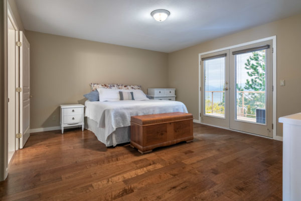 master bedroom Tracey Vrecko Kelowna Real Estate