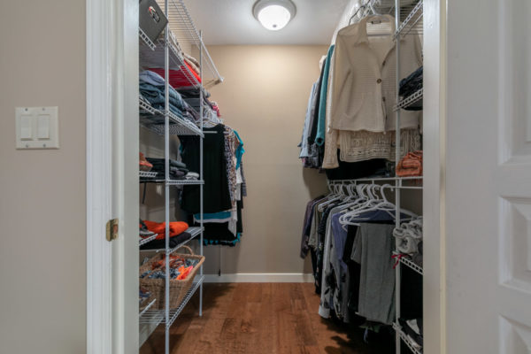 walk in closet Tracey Vrecko Kelowna Real Estate