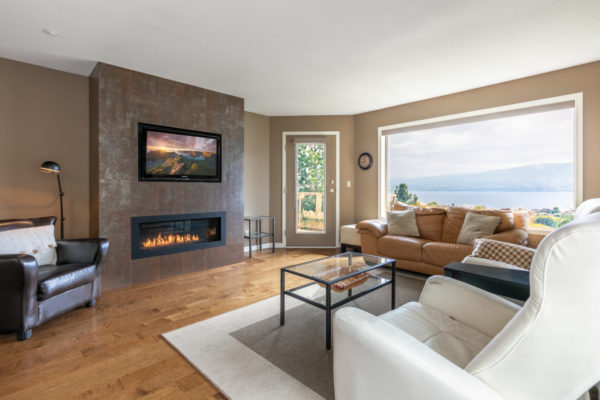cozy family room Tracey Vrecko Kelowna Real Estate