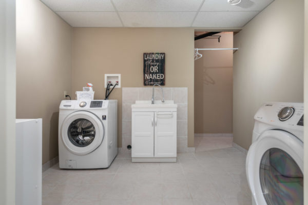 laundry room Tracey Vrecko Kelowna Real Estate