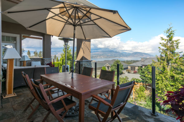 mountain view deck Quincy Vrecko Kelowna Luxury Real Estate