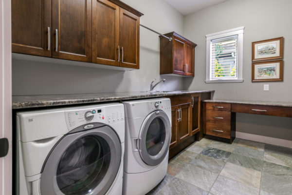 laundry room Quincy Vrecko Kelowna Luxury Real Estate