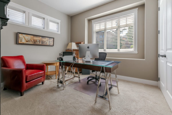 home office Quincy Vrecko Kelowna Luxury Real Estate