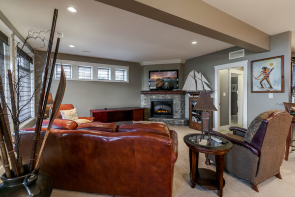 family room Quincy Vrecko Kelowna Luxury Real Estate
