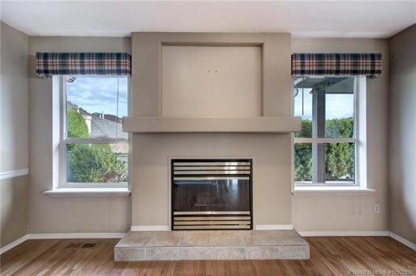 fireplace Quincy Vrecko Kelowna Real Estate