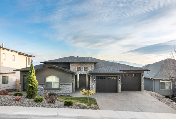 mountain view family home Quincy Vrecko Kelowna Luxury Real Estate