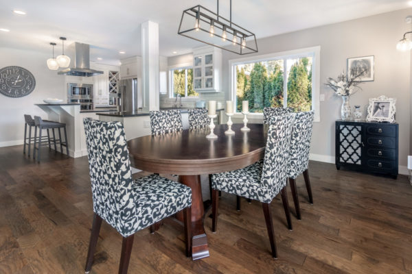Dining room Quincy Vrecko Kelwona Luxury Real Estate