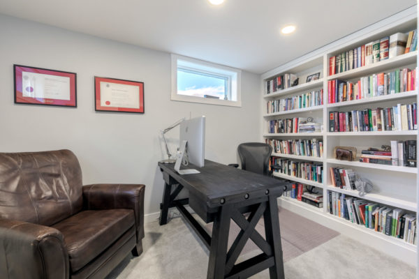 home office Quincy Vrecko Kelwona Luxury Real Estate