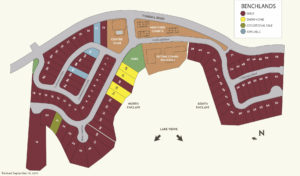 site plan Benchlands lakestone