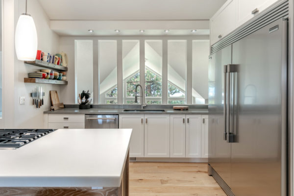 Kitchen with view Glenmore