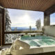 Hottub with view Big white