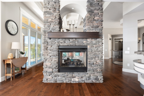 1477 Pinot Noir Drive - double sided fireplace - Quincy Vrecko